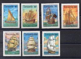 TANZANIE   Timbres Neufs ** De 1994 ( Ref 5817 ) Tranport - Bateaux - Voiliers - Tanzanie (1964-...)