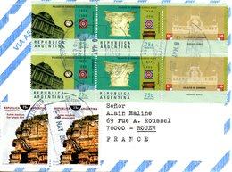 ARGENTINE. N°2048-9 De 1999 Sur Enveloppe Ayant Circulé. Poste. - Post