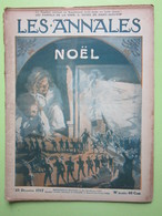 LES ANNALES N°double NOËL - JERUSALEM - DANS LA SOMME - Musée De St Quentin - Revue Du 23 Décembre 1917 - Journaux - Quotidiens