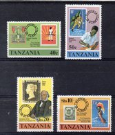 TANZANIE   Timbres Neufs ** De 1980 ( Ref 5818 ) Timbre Sur Timbre - Tanzanie (1964-...)