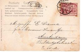 26.3.07 Langebalk HAARLEM1 Gearceerd Op NVPH88 Op Ansicht Naar Amsterdam - Periode 1891-1948 (Wilhelmina)