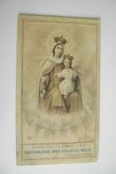 BARI  1953 -54 CONVITTO DON CIRILLO INAUGURAZIONE ANNO SCOLASTICO  RELIGIONE   Calendarietto   CALENDARIO CALENDRIER - Klein Formaat: 1941-60
