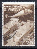 XP1535 - REPUBBLICA 1951, 29a Fiera Milano 20 Lire N. 657  Usato - 6. 1946-.. Repubblica