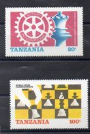 TANZANIE   Timbres Neufs ** De 1986 ( Ref 5819 ) Rotary - Echecs - Tanzanie (1964-...)