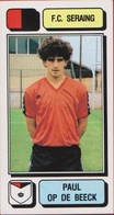 Panini Football Voetbal 83 1983 Belgie Belgique Sticker FC Seraing Liege Luik Nr. 226 Paul Op De Beeck - Sports