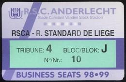 Grand Lot De Tickets De Football - Fútbol