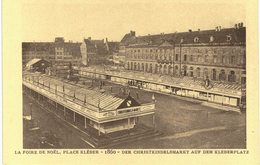 Strasbourg - Place Kléber - Foire De Noël 1860 - Série Strasbourg Disparu - Strasbourg