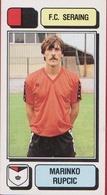 Panini Football Voetbal 83 1983 Belgie Belgique Sticker FC Seraing Liege Luik Nr. 227 MARINKO RUPCIC SERBIA - Sports