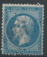 Lot N°45027  N°22, Oblit GC 1561 Fougerolles, Saône-et-Loire (70), Ind 4 - 1862 Napoleon III