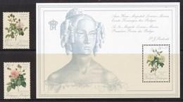 België - Promotie Van De Filatelie III - Rozen/Pierre-Joseph Redouté/Koningin Louisa-Maria - MNH - OBP 2353/2354.BL66 - Gezamelijke Uitgaven