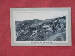 View From Gart Road -- Darjeeling     India  Ref 3078 - India