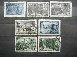 Heroes Of The Soviet Union # Russia USSR Sowjetunion # 1942 Used # Mi. 829/5 War - Used Stamps