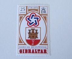 GIBRALTAR 1976 MNH ** BICENTENNIAL USA BICENTENARY BICENTENAIRE AMERICAN - Onafhankelijkheid USA