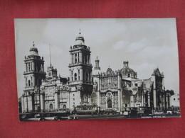 RPPC  >Catedral  Mexico  Ref 3078 - Mexique