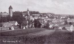 ALTE Foto- AK  ALLENTSTEIG / NÖ - Teilansicht - Ca. 1940 - Österreich