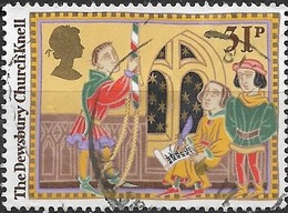 GREAT BRITAIN 1986 Christmas. Folk Customs - 31p - The Dewsbury Church Knell FU - Used Stamps
