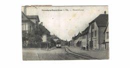 Strasbourg -  Robertsau Hauptstrasse - Tramway - Strasbourg