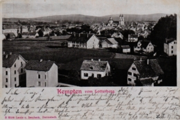 Kempten, Vom Lotterberg Aus Gesehen, 1902 - Kempten