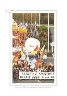 Quelque 1.100 Personnes Manifestent - Alain Hébert - Syndicat CGT FO CFDT - Cherbourg