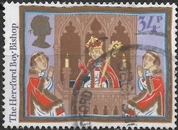 GREAT BRITAIN 1986 Christmas. Folk Customs - 34p - The Hereford Boy Bishop FU - Used Stamps