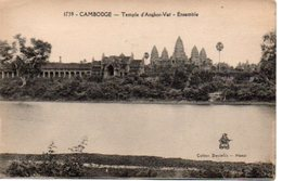 CAMBODGE : Temple D' ANGKOR VAT  Ensemble - Non Voyagée - TBE - Kambodscha