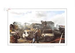Des Pompiers Interviennent à La Suite D'un Carambolage Sur L'A 10 Au Sud De Poitiers - Poitiers