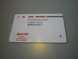 China Suzhou Marriott Hotel Room Key Card - Cartes D'hotel