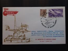 REPUBBLICA - Mostra Modellismo 1978 - Busta Elitrasportata Da Pisa A Massa + Spese Postali - 6. 1946-.. Repubblica