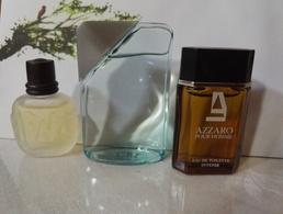 Miniature Parfum Lot De Trois Pour  Homme - Miniatures Anciennes (jusque 1960)