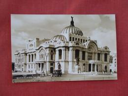 RPPC  Palacio De Bellas Artese    Mexico Ref. 3078 - Mexico