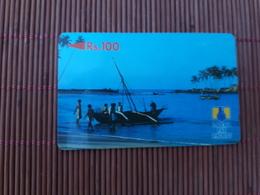 Phonecard Lanka Pay Phones Number 2SRLB Used - Sri Lanka (Ceylon)