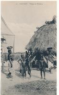 DAHOMEY - Village De Pécheurs - C.G.A.F. - Dahomey