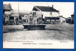 Rarécourt  -  La Fontaine Circulaire - France