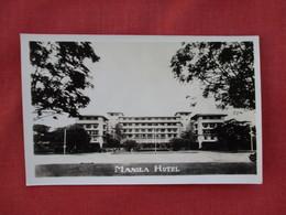 RPPC   Manila Hotel      Ref. 3078 - Philippines