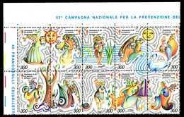 ERINNOFILIA / 53 Campagna Contro Tubercolosi SC10V - Erinnofilia