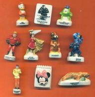 Lot De 10 Feves Porcelaine De Personnages Disney - Disney