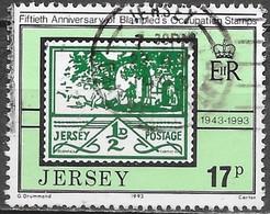 Jersey - Y&T N° 617 - Oblitéré - Jersey