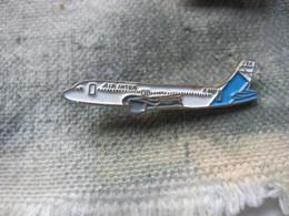 Pin's D'un Avion De La Compagnie Aérienne AIR INTER - Airplanes