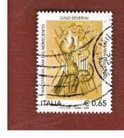 ITALIA REPUBBLICA  -  2009  G. SEVERINI - USATO ° - 6. 1946-.. Repubblica