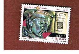 ITALIA REPUBBLICA  -  2008 A. GENTILI   - USATO ° - 1946-.. Republiek
