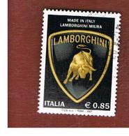 ITALIA REPUBBLICA  -  2007  LAMBORGHINI   - USATO ° - 6. 1946-.. Repubblica