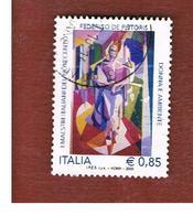 ITALIA REPUBBLICA  -  2009  F. DE PISTORIS - USATO ° - 6. 1946-.. Repubblica