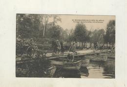 Cpa MANOEUVRES DU 3E REGIMENT DU GENIE - Passage De Voiturettes Mitrailleuses - Arras