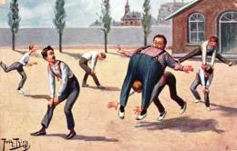 Sport, Sportstunde, Turnen, Sign. Arthur Thiele, 1911 - Thiele, Arthur