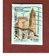 ITALIA  - 2015 TERREMOTO DELLA MARSICA     -   USED - 6. 1946-.. Repubblica