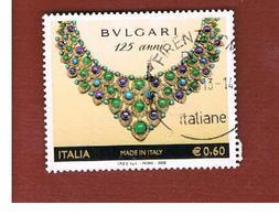 ITALIA REPUBBLICA  -   2009 BULGARI -   USATO  ° - 6. 1946-.. Repubblica