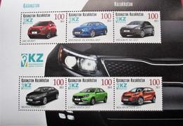 Kazakhstan  2017  Different Types Of Cars   S/S MNH - Kazakhstan