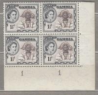 GAMBIA 1953  National Costumes MNH (**)  Mi 150 #23326 - Gambia (...-1964)