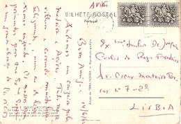Portugal & Marcofilia, Açores, S. Miguel, Lagos Das Sete Cidades, Lisboa 1962 (7796) - 1910-... Republic