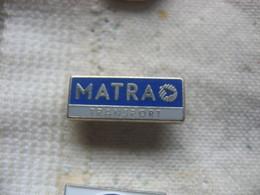 Pin's Matra Transport, Armee, Communication Aerospatiale Dassaul - Transportation